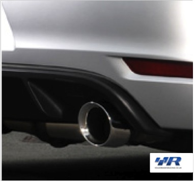 VWR Golf GTI Exhaust